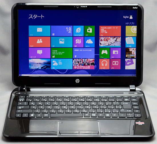HP Pavilion Sleekbook14-b000(AMDモデル)