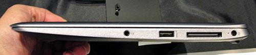 薄さ15.7mm、軽さ1.0kgの薄型軽量ボディ。