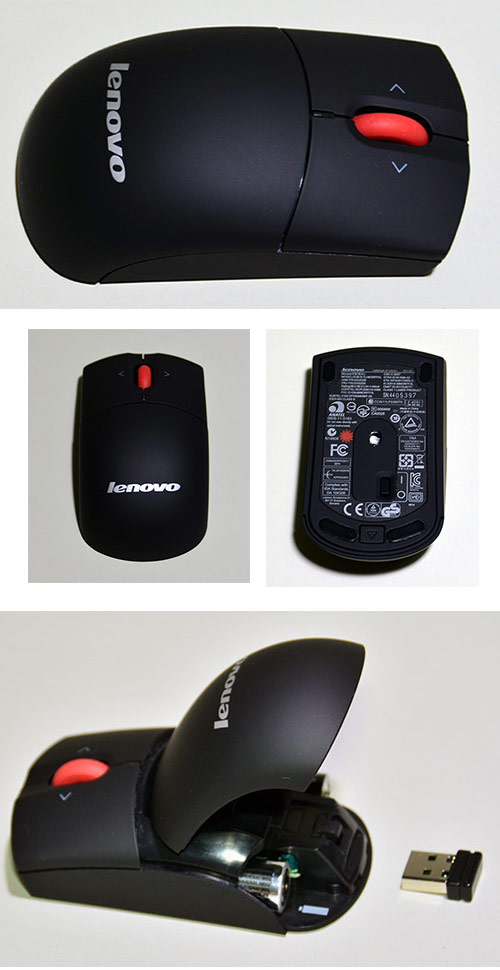 Lenovo ワイヤレス・レーザーマウス