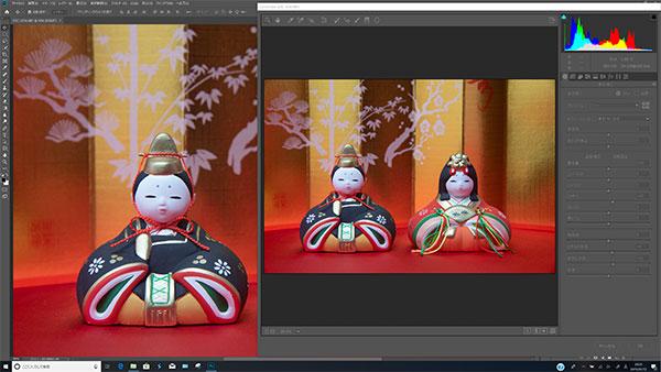 Adobe Photoshop CCでの一眼レフカメラのRAWデータ現像作業(輝度、彩度、コントラスト、黒レベル、かすみの除去)