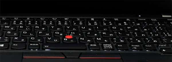 2段階調整の出来るLEDライト対応キーボード。