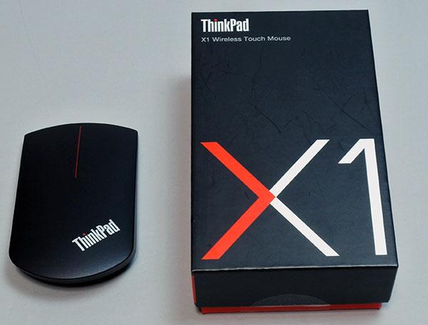 便利な周辺機器としてマウスがタッチパネルになる新型ThinkPad X1 ワイヤレスタッチマウスのレビューです。
