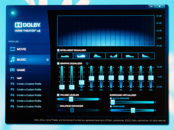 DOLBY HOME THEATER音響ソフト